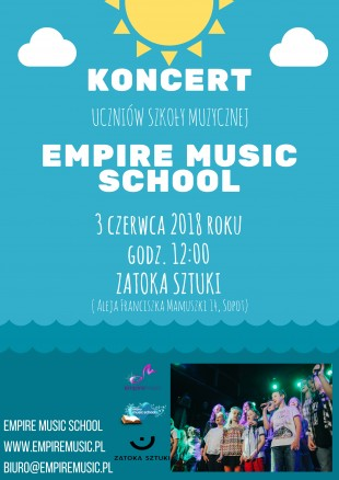 Plakat Koncert Empire Music School